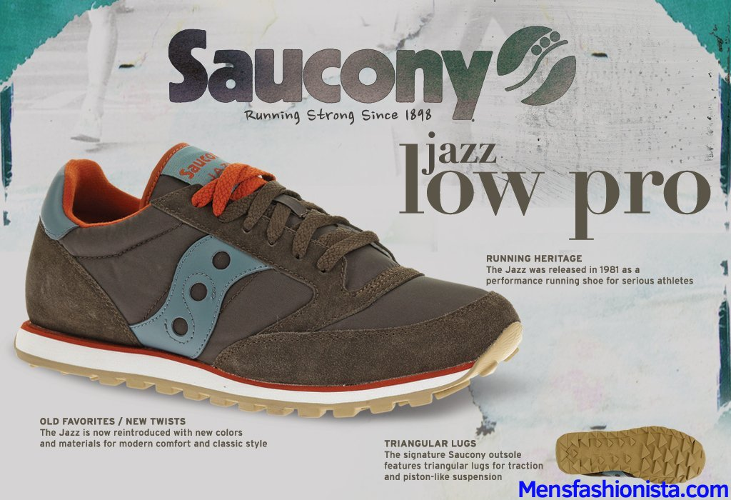 Saucony Originals Men's Jazz Low Pro Sneaker